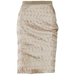 Piazza Sempione Geometric Applique Skirt