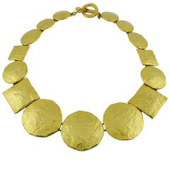 Edouard Rambaud Vintage Gold Toned Necklace