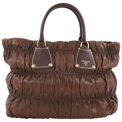 Prada Gaufre Tote Nappa Leather Large