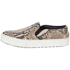 Celine Python Slip-On Skater Sneakers Sz 38.5 with Box rt. $1,400