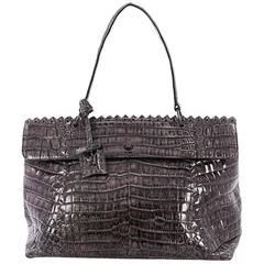 Bottega Veneta Tie-Dye Tiina Bag Crocodile Large