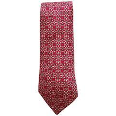Hermes Tie - 100% Silk
