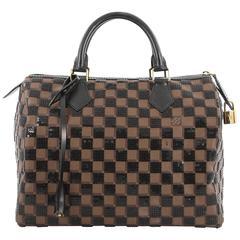 Louis Vuitton Speedy Handbag Damier Paillettes 30