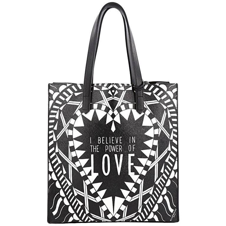 Givenchy Power of Love Tote Printed Leather Large