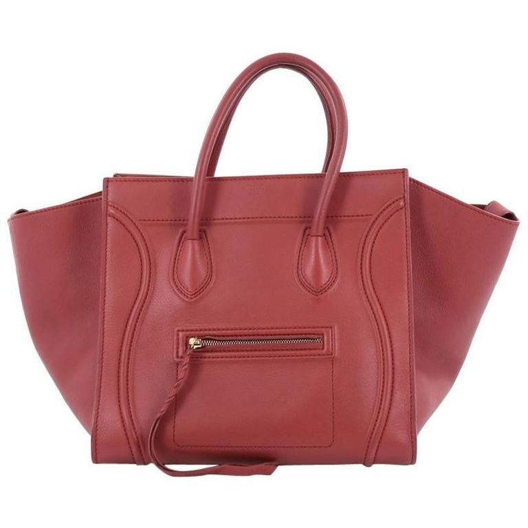 Celine Phantom Handbag Grainy Leather Medium 1