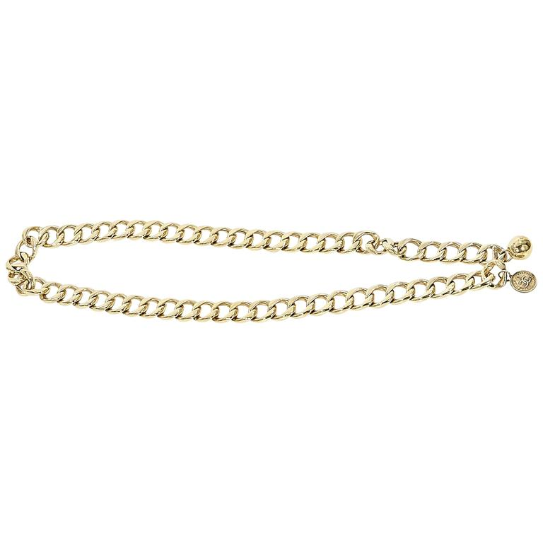 Goldtone Vintage Chanel Chain Belt