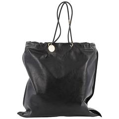 Tom Ford Medallion Flat Tote Leather Vertical