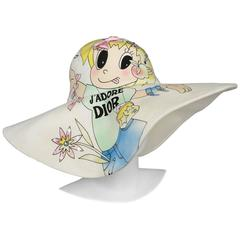 Christian Dior Cartoon Hat