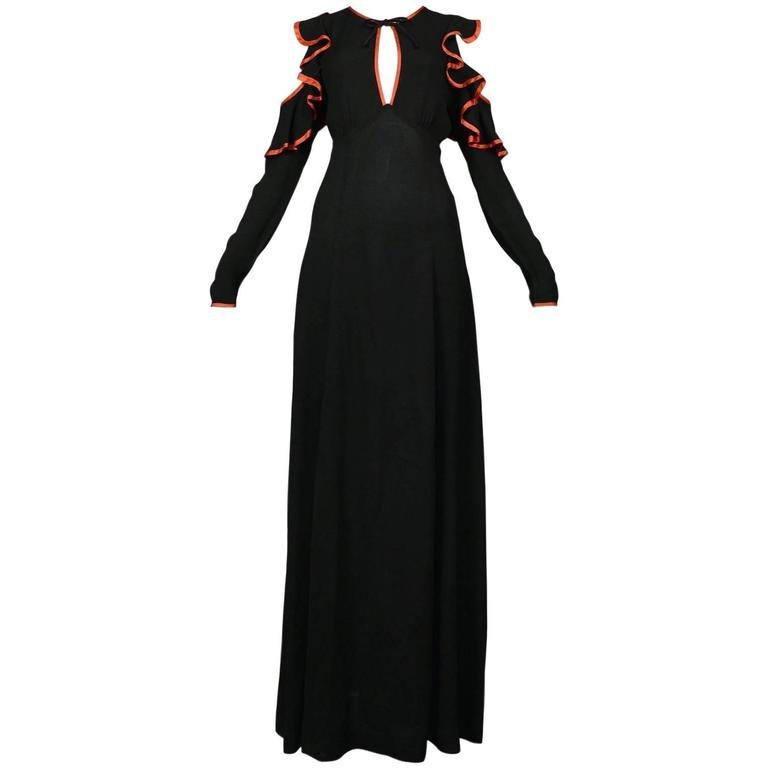 Ossie Clark Ribbon Dress 1