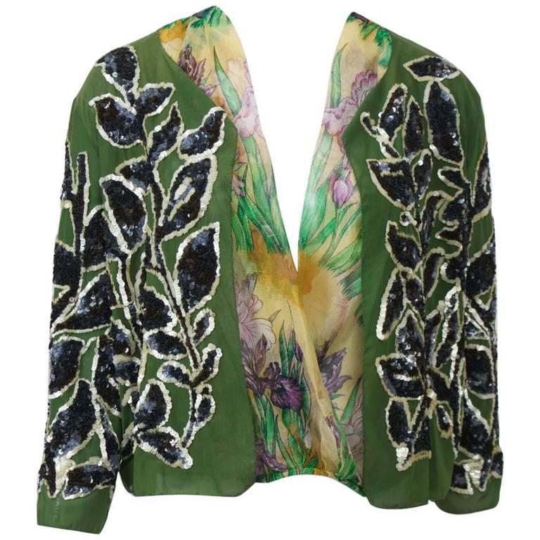 Jean Paul Gaultier Sequin Jacket Set