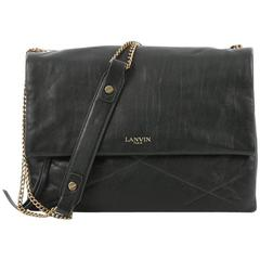 Lanvin Sugar Flap Shoulder Bag Quilted Leather Medium