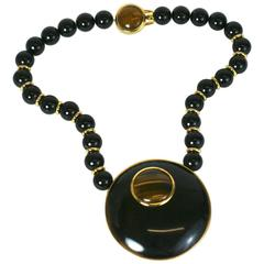 Alexis Kirk Tiger Eye Statement Necklace