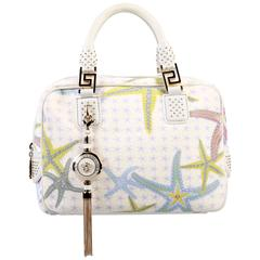New VERSACE Starfish print Tote Bag