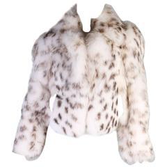 Versace Collection fox fur jacket