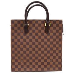 Louis Vuitton Venice Ebene Damier Canvas Tote Hand Bag