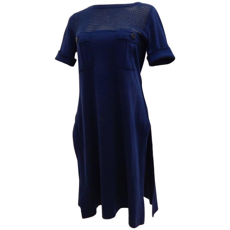 Sonia Rykiel blu dress