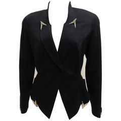 Thierry Mugler Black Jacket