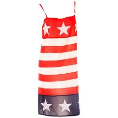 Comme Des Garcons Junya Watanabe Stars and Stripes Dress