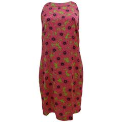 Love Moschino Pink flower Dress