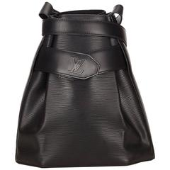 Louis Vuitton Black Epi Leather Sac D'Epaule GM Bag