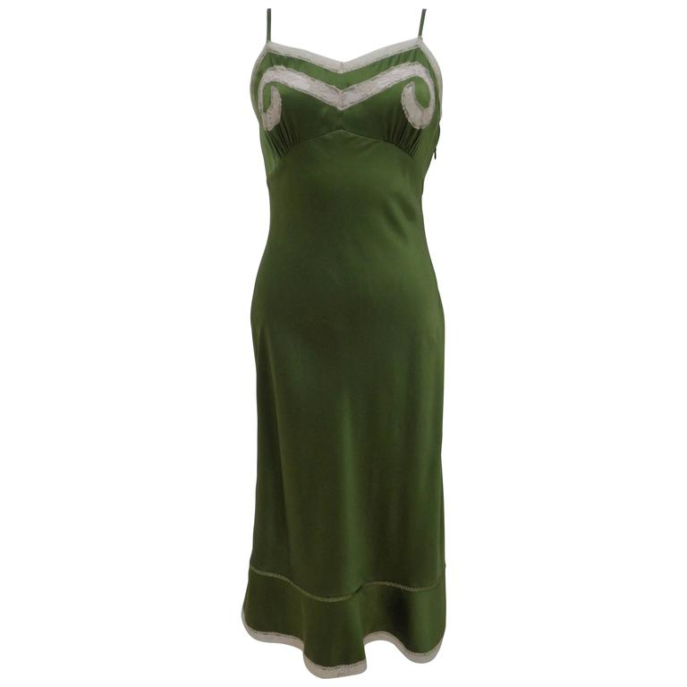 Red Valentino Green Dress