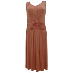 Fendi Rose Pale nude Dress NWOT