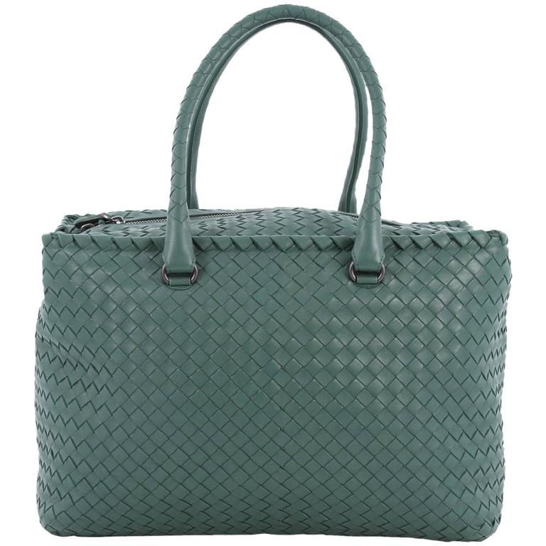 Bottega Veneta Brick Bag Intrecciato Nappa Medium For Sale