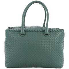 Bottega Veneta Brick Bag Intrecciato Nappa Medium