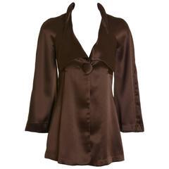 1970s BIBA Satin Jacket