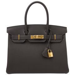 Hermès Birkin 30 Macassar GHW
