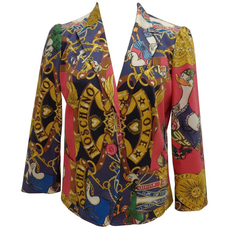 Moschino Love Duck Jacket