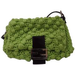 Fendi Green Shoulder Baguetta bag