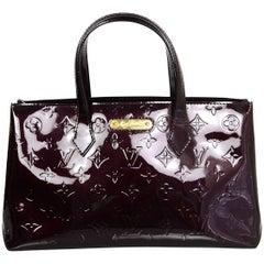 Louis Vuitton Amarante Vernis Monogram Wilshire PM Bag