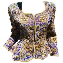 Custom Empress Jeweled and Embroidered Jacket
