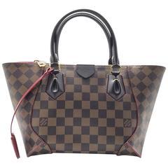 Louis Vuitton Caissa Tote PM Brown Damier Canvas Top Bag
