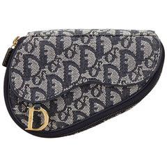 Dior Black Saddle Pouch