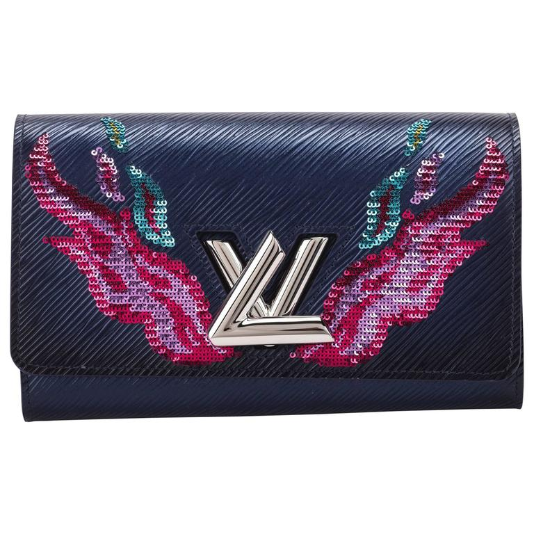 Louis Vuitton Limited Edition Twist Wallet With Flames BNIB
