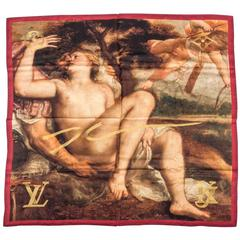 Louis Vuitton Masters Limited Edition Jeff Koons Titian Scarf