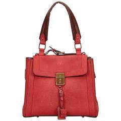 Chloe Red Nubuck Leather Darla