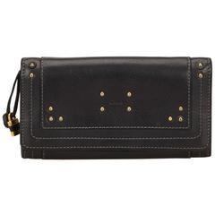 Chloe black Leather Paddington Wallet