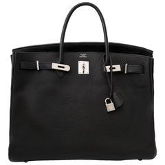 Hermes Birkin 40 Black Togo PHW