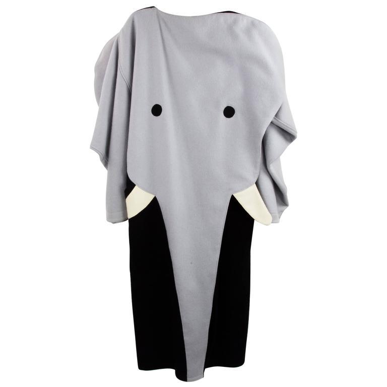 Rare Jean-Charles de Castelbajac Dumbo the Elephant Runway Coat