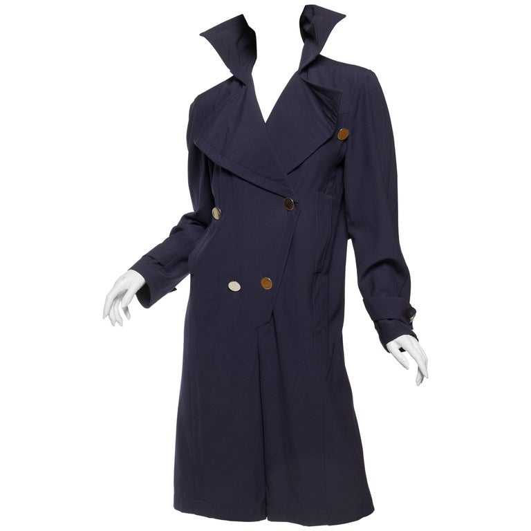 Thierry Mugler Trenchcoat Jumpsuit