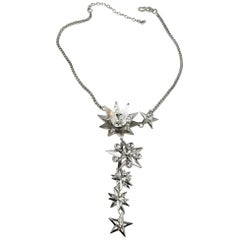 One-of-a-Kind Robert Sorrell Stars & Crystal Drop Necklace