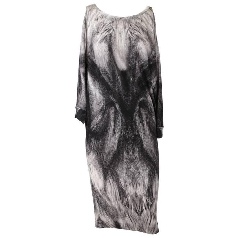 ALEXANDER Mc QUEEN Dress in Wool Size M