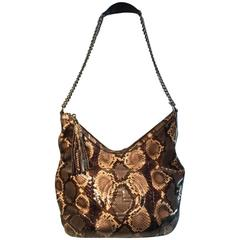 Gucci Python Leather Hobo Interlocking G