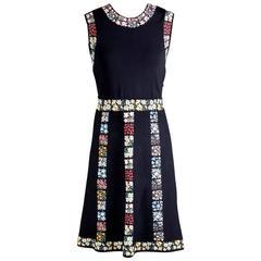 Valentino Knit Fit N Flare Dress, modern