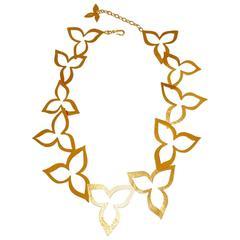 Herve van der Straeten Cutout Petal Necklace