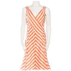 Giorgio Armani Bias Silk Dress