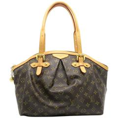 Louis Vuitton Tivoli GM Brown Monogram Canvas Tote Bag
